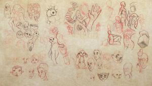 Collected Sketches 2 by ryanmalm