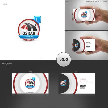 OSKAR - buisness cards by Nexert