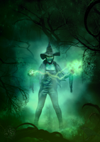 Wicked witch of the west by Quijuka