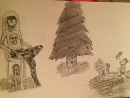 A slightly different Christmas by Perlenpfote