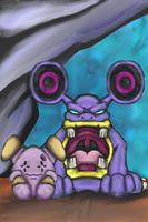 Whismur and Loudred