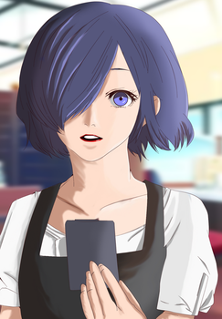 Welcome to Anteiku! - Kirishima Touka by TheNameIsSai