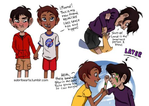 Kids!Klance Part 1/3 by urbangurl123