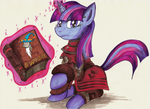 Comission - Twilight Scribe by jamescorck