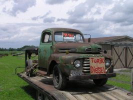48 Ford Truck by TheMightyQuinn