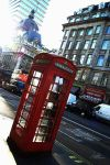 London telephone booth by Andriandreo