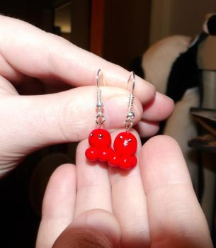 Octopie Earrings by MadMother88