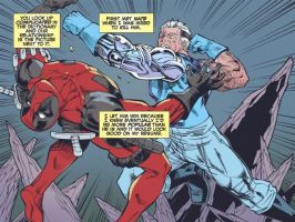 Deadpool Cable, Split Second 2 by ReillyBrown