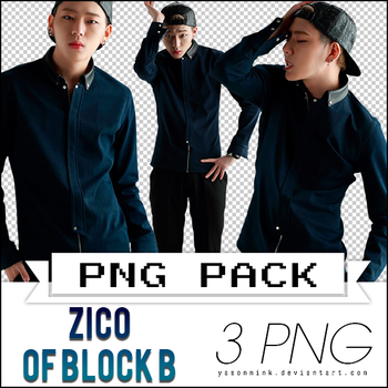 Renders' pack with Zico of Block B [UPDATED] by yasonmink
