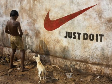 Brand Irony 1 - Just Do It by sharadhaksar