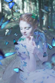 Madame Butterfly XIV by MiriamPeuser