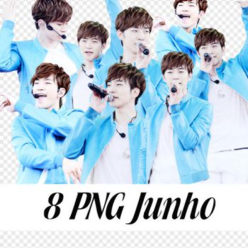 8 PNG Junho by BHottest