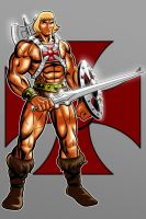 HE-MAN MASTERS OF THE UNIVERSE by Thuddleston