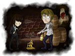 Funny stories in scary moments by Chizu-PS