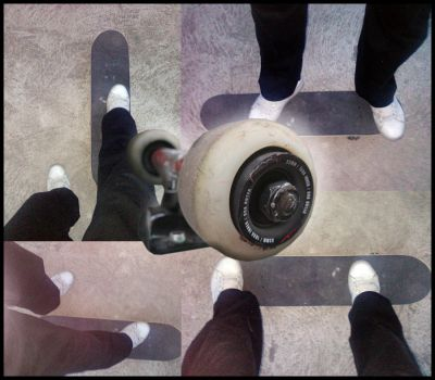 Me on a skate by perfectflow