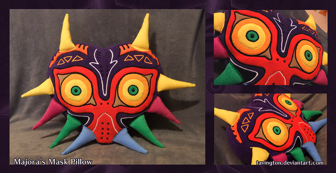 Majora's Mask Pillow by tavington