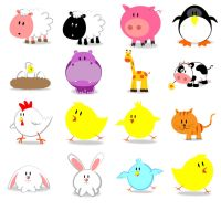 Free cute animals by FreeIconsFinder