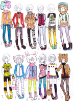Pretty boy collection -CLOSED- by bejja