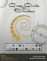 Crop Circle Brushes by archnophobia