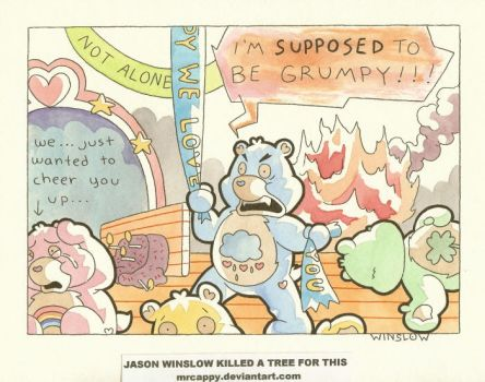 The Care Bear Meltdown by Mrcappy