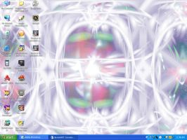 Flare abstract wallpaper 3 by Algester