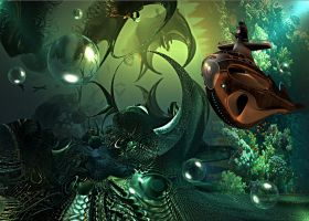 CREATURES OF THE DEEP by DorianoArt