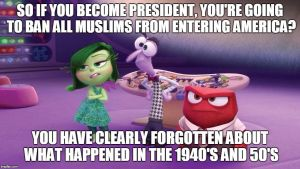 My Reaction to Donald Trump's Plan to Ban Muslims by RailfanBronyMedia