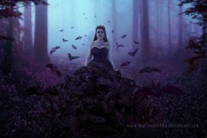 Queen of the darkness by MarinaBozhko