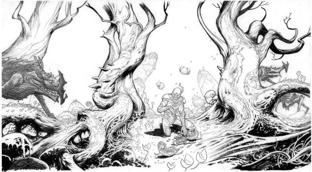 some what raw inks by cliff-rathburn