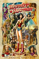Wonder Woman by tremary
