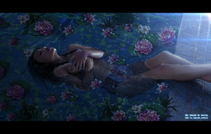 My dream. Waterlily at night. by NestraS