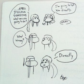 working on some comic by MissTurtleLittle