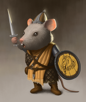 Whiterun mouse guard by CChhim
