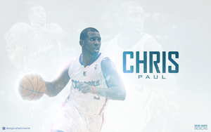 Chris Paul wallpaper by RafaelVicenteDesigns
