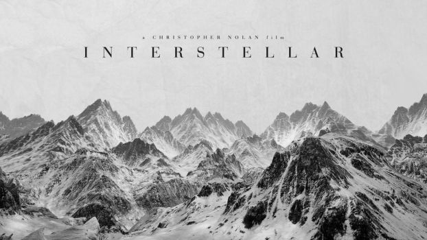 Interstellar Wallpaper 1 (Black and White) by rrpjdisc