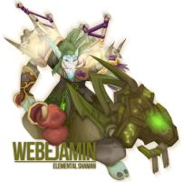 Webejamin the Shaman by Nortiker