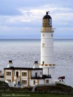 Corsewall Point Lighthouse by printsILike