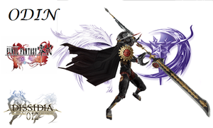 Dissidia Duodecim Unofficial DLC Odin type-0 by OoNickt