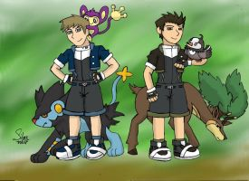 The Kratts PKMN Rangers by Okamiminoru