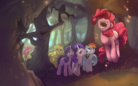 s1e2 Giggling at the Ghosties by Noben
