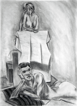 Life Drawing I Final 1 by MikeyWayluver013
