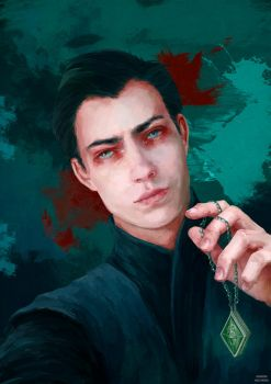 Tom Riddle by MarinaMichkina