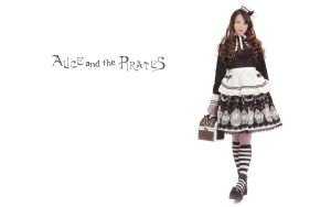 Alice and the piratewallpaper8 by guillaumes2