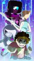 We Are The Crystal Gems by Pdubbsquared