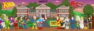 X-Men in American Dad Style 1 by bartje006