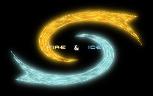 Fire + Ice - Text Version by theLastWanderer