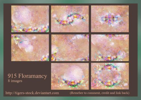 915 Floramancy by Tigers-stock