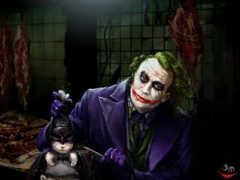 The Joker and a rabbit by jiangming
