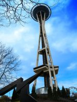Space Needle by Nachtfall