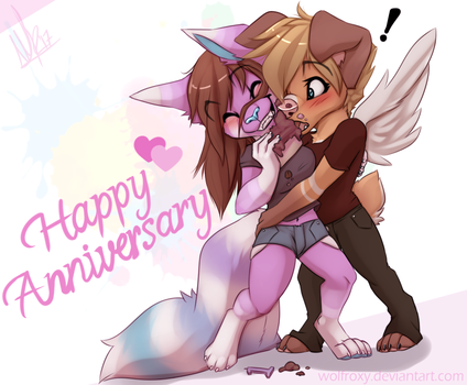Anniversary by WolfRoxy